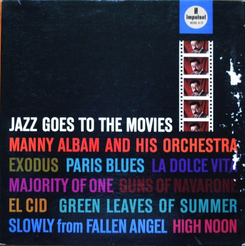 Manny Albam and his Orchestra - Jazz Goes to the Movies album cover